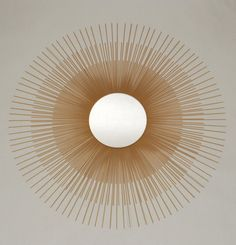 Ashton Sutton Gold Sunburst Mirror