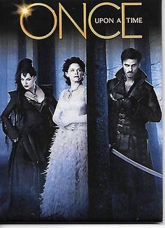 Once-Upon-A-Time-TV-Series-Trio-One-Sheet-Poster-Refrigerator-Magnet-NEW-UNUSED