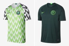 5b0cd2941b9 Why There's So Much Buzz About Nigeria's World Cup Kit. Soccer KitsSoccer  ShopFootball ...