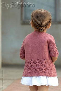 Diy Crafts - Ravelry: Summer Morning pattern by Pelykh Natalie Kids Knitting Patterns, Knitting For Kids, Crochet For Kids, Crochet Baby, Knit Crochet, Booties Crochet, Crochet Patterns, Knit Baby Sweaters, Girls Sweaters