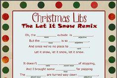Free Christmas Mad Libs Printable @ christmas.yourway.net