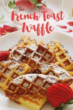 Can't decide between French toast and waffles? Now you don't have to.