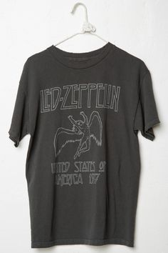 Brandy ♥ Melville | Led Zeppelin Tee - Band Tees - Graphics