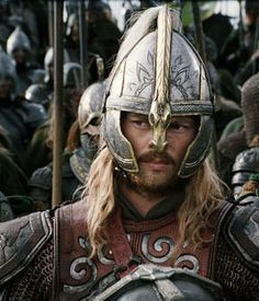 Karl Urban (as Eomer) in The Lord of the Rings