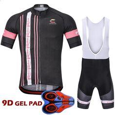 214126cb77145 2018 Ropa Cycling Cycling Jersey Set Pro Cyklistické oblečení pro muže /  krátký rukáv 9D Gel