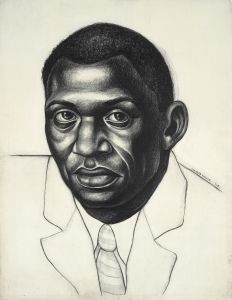 """Audio from """"Charles White: A Retrospective"""". Hear Charles White, Harry Belafonte, Kerry James Marshall, and others reflect on White's legacy as an artist, educator and social justice advocate. African American Artist, American Artists, African Art, Democracy In America, Black Art Pictures, Black Artists, Black History Month, Art Sketchbook, Painting & Drawing"""