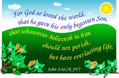 for god so loved the world - Google Search