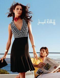 Joseph Ribkoff black white casual dress.   Love anything Joseph Ribkoff . . .