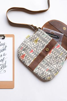 Fair Trade Crossbody Satchel