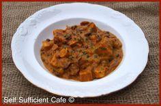 Adzuki bean and beluga lentil curry