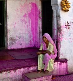 The aftermath of Holi -Rajasthan We Are The World, People Of The World, Namaste, Mother India, India Images, India Culture, India Colors, India People, Rajasthan India