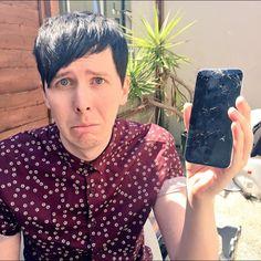 """I can see it """" Dan Dan look at this"""" """" umm"""" """" CRAP"""" """" not again phil are u serious"""""""