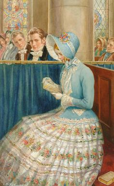 Enoch Fairhurst (1874 - ?) - Admiring glances