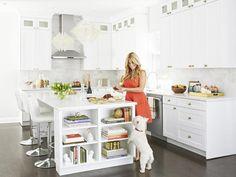 This stunning white #kitchen belongs to Kitchen Crasher's Alison Victoria #hgtvmagazine www.hgtv.com/kitchens/inside-alison-victorias-kitchen/pictures/page-3.html?soc=pinterest