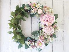 Wreath de French Antique 35cm|フラワー・リース|andange(アンダンジュ)|ハンドメイド通販・販売のCreema