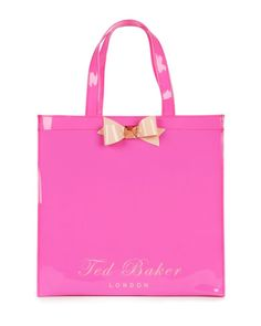 TED BAKER - BOW SHOPPER ICON laukku | The Handbag Superstore