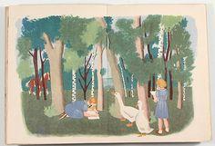 Nathalie Parain, Les Contes du Chat Perché, Le Problème (1946)