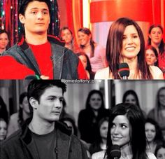 James Lafferty and Sophia Bush one tree hill