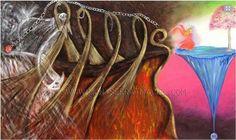 Título :Desapego Obra de Arte en Oleo y Acrílico sobre tela.  Disponibilidad a la venta /For sale montserratmaciel.com