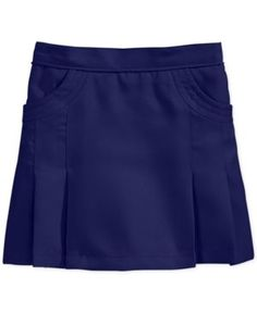Nautica School Uniform Circle Scooter Skirt, Little Girls (4-6X) - Blue 4
