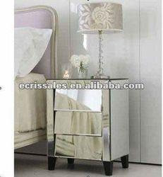vintage venetian glass furniture antique mirrored furnitureglass bedside tablevenetian side bedroom furniture bedside cabinets mirror antique