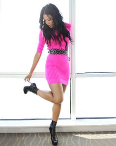 Image uploaded by Empire State. Find images and videos about girl, fashion and pink on We Heart It - the app to get lost in what you love. Classy Sexy Outfits, Famous Black, Sexy Dresses, Passion For Fashion, Girl Fashion, Fashion Killa, Fashion Ideas, Street Style, Cool Stuff