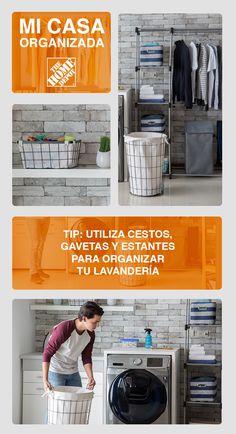 Home Depot, Organizar Closet, Ideas Para Organizar, Life Organization, My House, Beautiful Homes, Sweet Home, Home Appliances, House Design