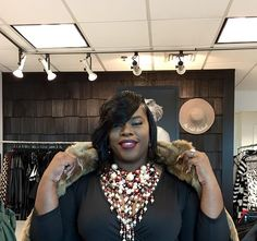 """What We Love About Her Style http://www.todayswomannow.com/2017/04/what-we-love-about-her-style.html By Miranda Popp  This local entrepreneur and army veteran is unabashedly frank about where she came from, what she's doing, and where she's going. RaeShanda Johnson, founder and CEO of All is Fair in Love and Fashion, has been handing out style advice since she was a young girl. """"I've always been overdressed and a little extra."""" """"Size and fit are important,"""" RaeShanda says, """"but personality…"""