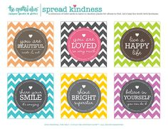the life and designs of the spotted olive™: {spread kindness} #26acts & printable freebie