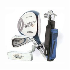 Intech Future Tour Junior Golf Set, (Left-Handed, Age 6 to 11, Oversize Driver, Mirror Finish 5 and 9 Irons, Putter, Collapsible Nylon Bag) at http://suliaszone.com/intech-future-tour-junior-golf-set-left-handed-age-6-to-11-oversize-driver-mirror-finish-5-and-9-irons-putter-collapsible-nylon-bag-2/