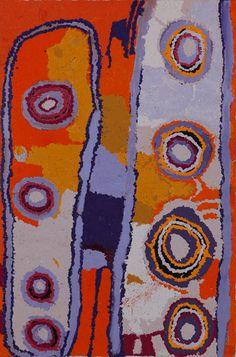 Beryl Jimmy - 'Kapi Tjukula' - 66 x 100cm