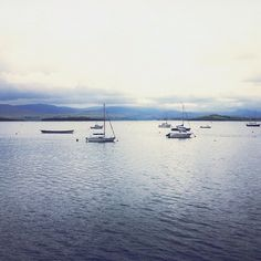A blue moment…#ireland #boats #bantry