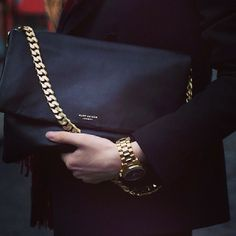 Luxury Black & Gold  #funwithjoycard #glamour #accessories #fashion
