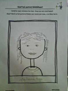 Gietjes Corner: Portret met naamhaar als extra schrijfopdracht