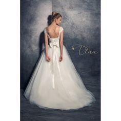 Wedding dress Kristal by Tina Valerdi Bridal Dresses, Girls Dresses, Flower Girl Dresses, Formal Dresses, Best Sellers, Salons, Ball Gowns, Collection, Fashion