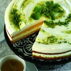 Rhubarb Lemon Balm cake- recipe needs translating