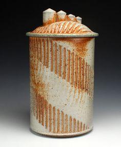 David-Hiltner-Soda-Fired-Covered-Jar-Handmade-Studio-Pottery-Ceramic-Artist-Art