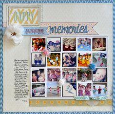 Happy Summer Memories ~Webster's Pages~ - Scrapbook.com