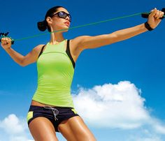 Resistance Band Workout: Workouts: Self.com : Use this easy plan to get a hard body. Your secret weapon? A resistance band. #SelfMagazine