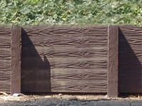 Cement retaining wall Looks Like Wood | Dynamic Precast - Concrete Fencing & Retaining Walls