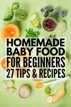 How to Make Homemade Baby Food | Introducing solids can be exciting for kids, but stressful for mom, am I right? Whether you're just starting with stage 1 baby foods, or in search of homemade baby food recipes beyond apples and butternut squash, we're sharing our favorite baby food making tips, products, and storage containers, as well as 21 delicious puree combinations your little one is sure to love! #homemadebabyfood #babyfood #babyfoodrecipes Wholesome Baby Food, Healthy Baby Food, Food Baby, Baby Food Puree, Apple Baby Food, Healthy Kids, Pureed Food Recipes, Healthy Recipes, Easy Recipes