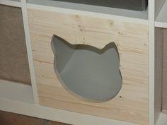 Katzenhaus für Regal  Katzenhöhle Katzenbett