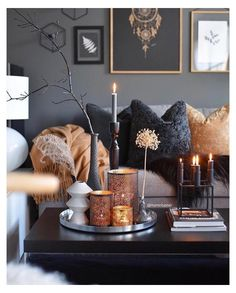 Bohemian Living, Fall Living Room, Living Room Decor, Decor Room, Living Rooms, Halloween Living Room, Apartment Living, Bedroom Decor, Small Living Room Design