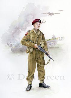 Major, 1 / Royal Ulster Rifles, Normandy 1944