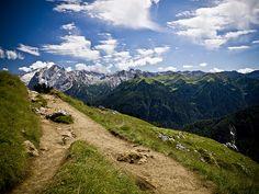 Montain Landscape - the right path - Marmolada - Dolomiti #Italy #dolomiti