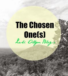#NEWPOST The Chosen One(s)  You have been chosen by God  himself He has authored your life for His purposes.  Today on the  blog we  discuss moving forward with Gods Plans.  #FaithBuilder #LesliAllynBlogs #Devotional #ChristianBlog #FreelanceWriter #Advice #Relationship #BibleStudy #Repin