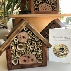 Our bee house is a safe and non toxic environment for Australian native bees to establish their home in your garden. Made in Brisbane from rescued native timber and weed bamboo cleared from Brisbanes creeks. Native bees and wasps are the mystery helpers i Bee Hives For Sale, Australian Native Garden, Australian Bush, Raising Bees, Insect Hotel, Bee House, Sensory Garden, Bees And Wasps, Native Australians
