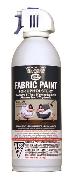 Upholstery Fabric Paint... really?