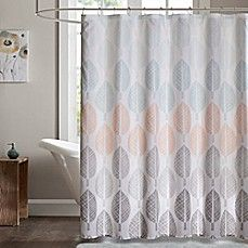 Madison Park Essentials Central 72 Inch Shower Curtain