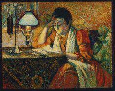 Women Reading - simena: GEORGES LEMMEN